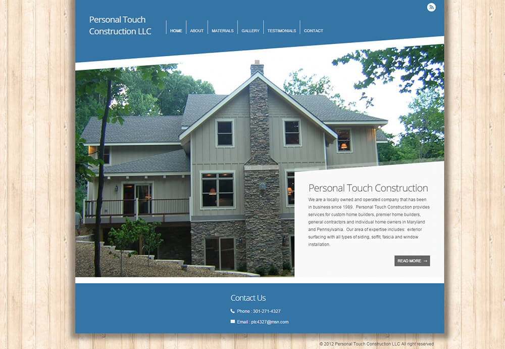 Personal Touch Construction LLC