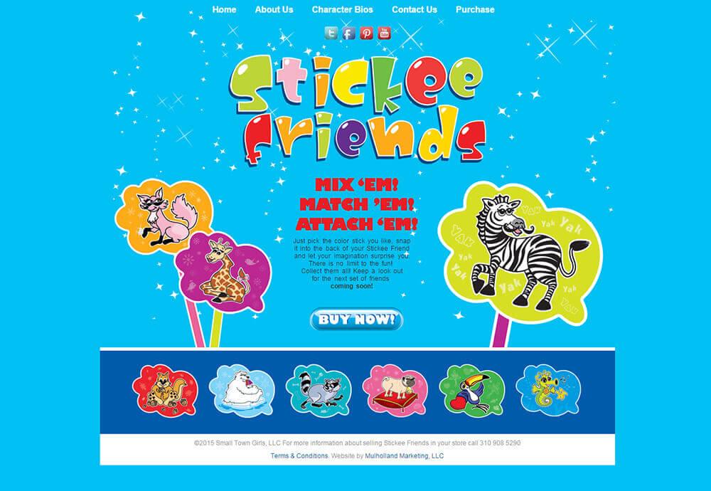 Stickee Friends